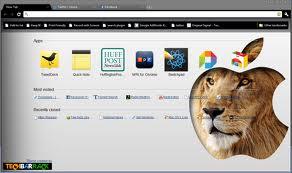 Google Chrome for Lion X OS