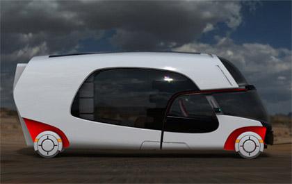Concept of New Luxury Future Camper