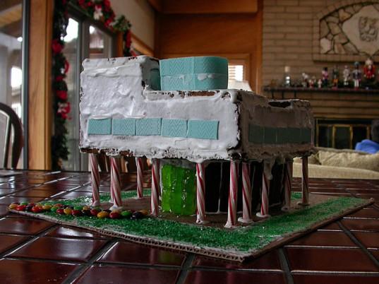 Gingerbreaed Villa Savoye