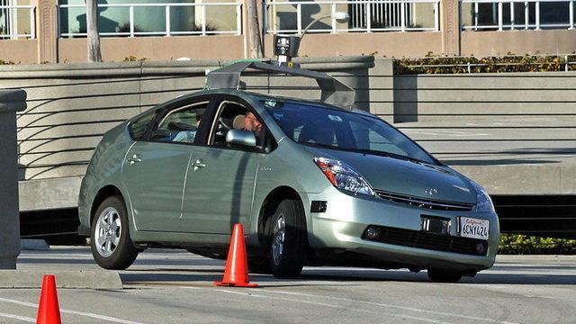Landing Strip for Self Driving Cars