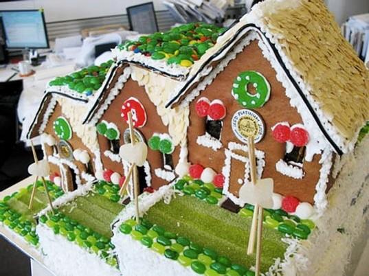 Leed Platinum Gingerbread House