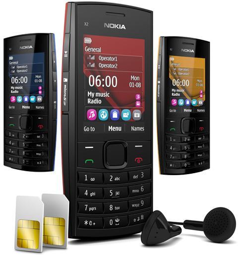 Nokia X2-02 Dual SIM