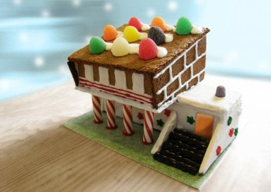 Prefab Gingerbread Home