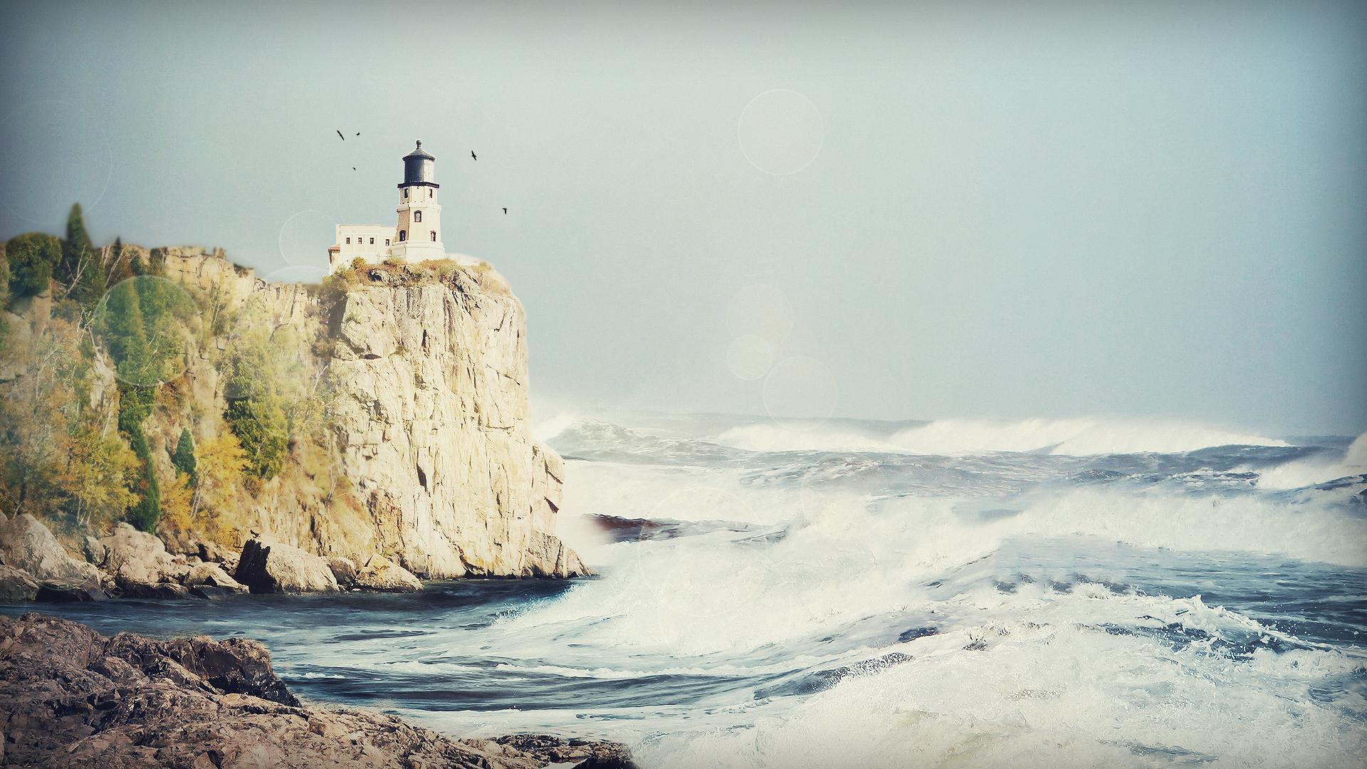 Beautiful Lighthouse-HD