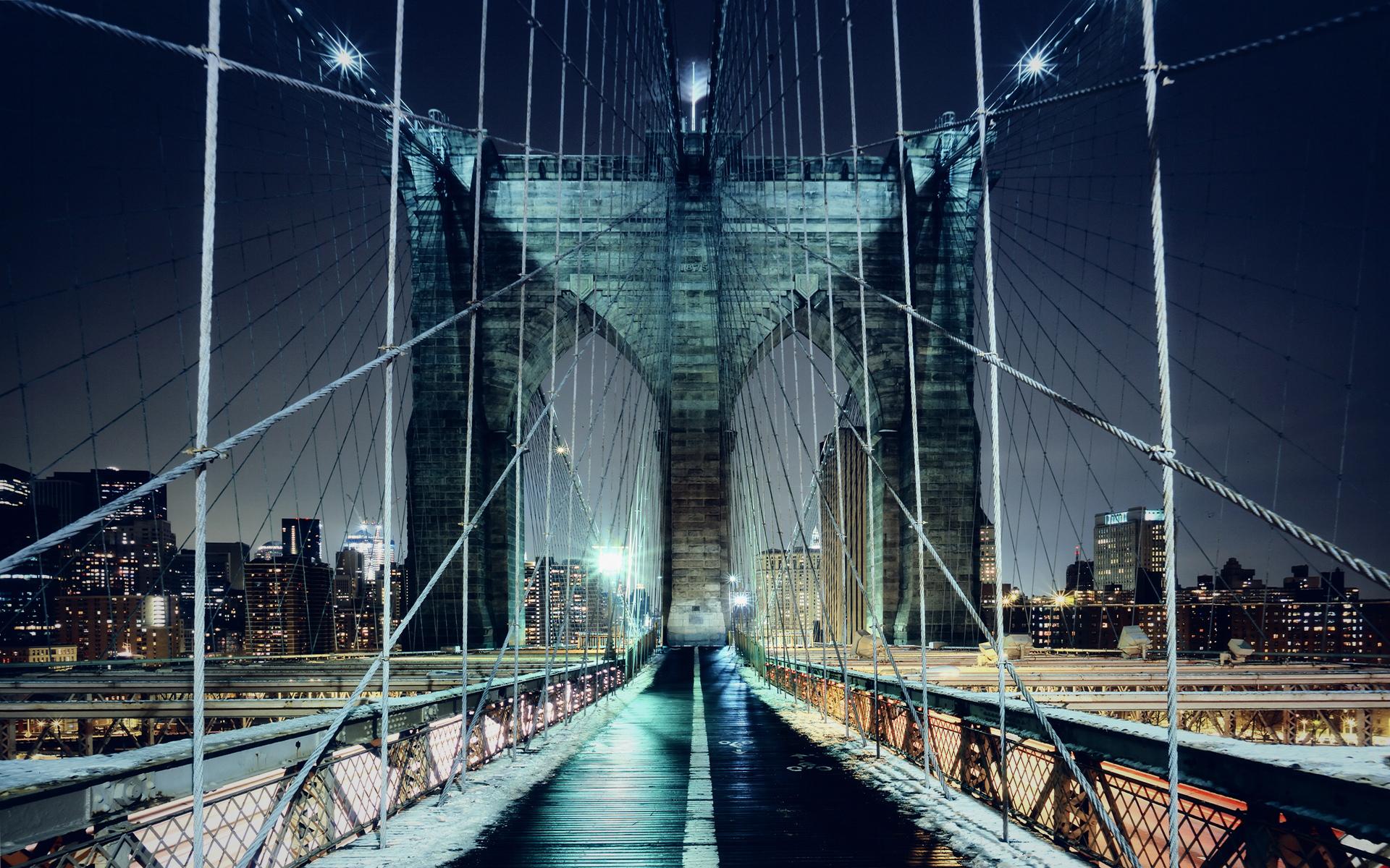 Brooklyn Bridge Walkway-HD