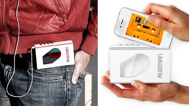 iPhone Into a Retro Walkman