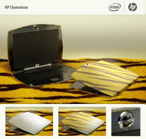 HP Chameleon Ladies Laptop Concept Design