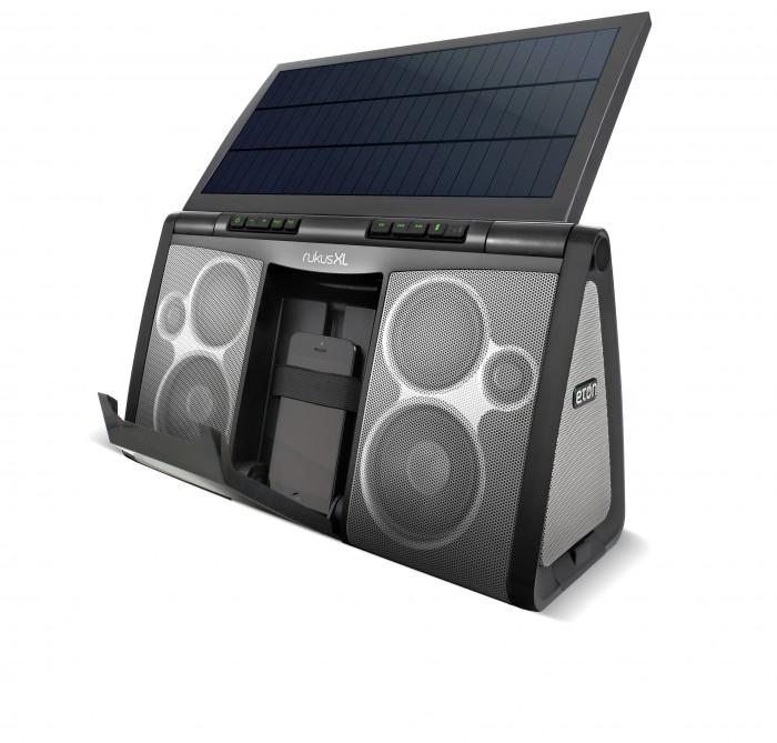 The Rukus Solar XL Unveiled Expands Off the Grid Device Range joins Eton's Rukus Line