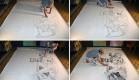 Ben Heine Beautiful 3D Pencil Art