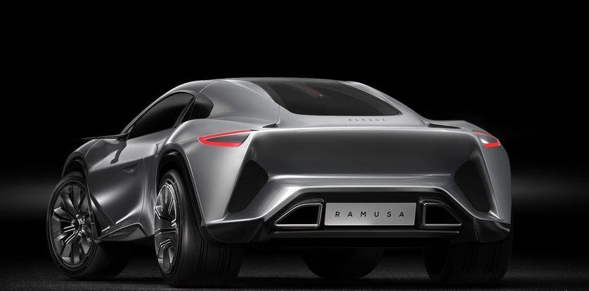 Camal Ramusa Supercar Concept Design New Look
