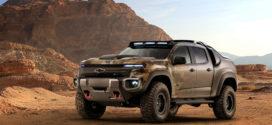 Chevy Colorado ZH2 Pickup Truck Concept Design